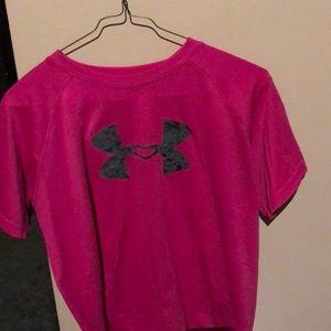 Under Armour heat gear T-shirt YXL